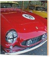Ferrari 250 Gt Boano Wood Print