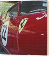 Ferrari 250 Gt Wood Print