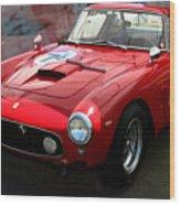 Ferrari 250 Gt Swb Wood Print