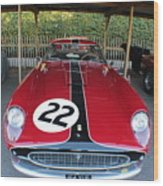 Ferrari 250 Gt Tour De France Wood Print