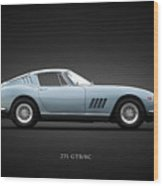 Ferrari 275 Gtb Wood Print