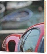 Ferrari 3 Wood Print