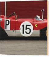 Ferrari 312 Profile 1971 Wood Print
