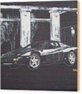 Ferrari 348 Gtr Testarrossa Wood Print