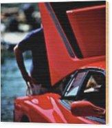 Ferrari 5 Wood Print