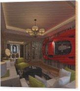 Ferrari Enzo Art Wall Wood Print