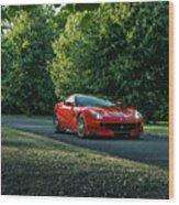 Ferrari F12 Tdf Wood Print