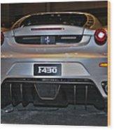 Ferrari F430 No 1 Wood Print
