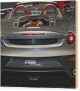 Ferrari F430 Spyder Convertible Wood Print