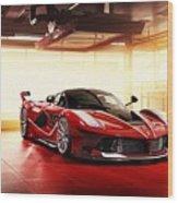Ferrari Fxx K  1 Wood Print
