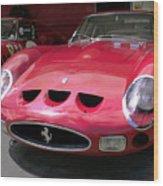 Ferrari Gto Wood Print