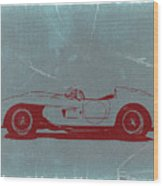 Ferrari Testa Rosa Wood Print