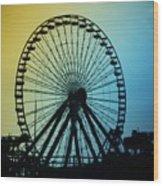Ferris Wheel - Wildwood New Jersey Wood Print