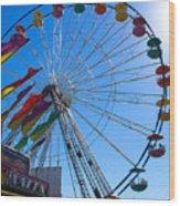 Ferris Wheel 6 Wood Print
