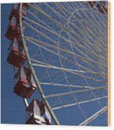 Ferris Wheel Iv Wood Print