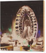 Ferris Wheels Tower 536 2 Wood Print