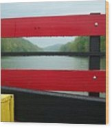 Ferryride Wood Print