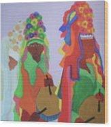 Festa Do Rosario Wood Print