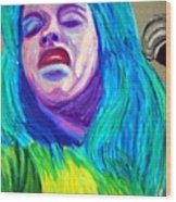 Festival Diva Wood Print
