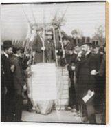 Festive Start Of Balloon 1906 Wood Print