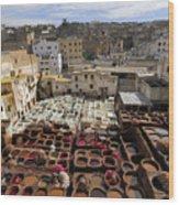 Fez Morocco Wood Print