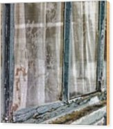A Century Of Looking Out...and I Look In Wood Print