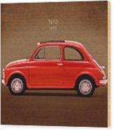 Fiat 500 R 1972 Wood Print