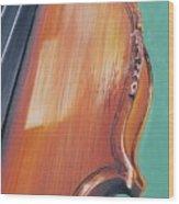 Fiddle II Wood Print