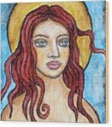 Fidelia Wood Print