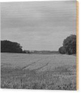 Field Wood Print