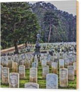 Field Of Heroes Wood Print
