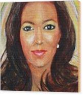 Fiercewomen Portrait Of Adrienne Wood Print