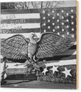 Fiesta Bowl Parade Phoenix Arizona 1990 Wood Print