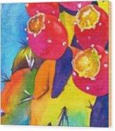 Fiesta De Fruta Wood Print