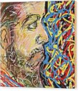 Fifteen Minute Beard Wood Print