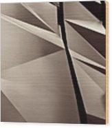 Fifth Avenue Details Sepia Wood Print