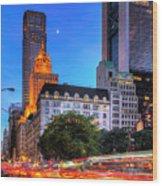 Fifth Avenue Wood Print