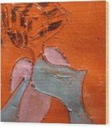 Fifties Gal - Tile Wood Print