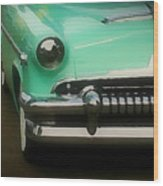 Fifties Ride Wood Print