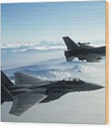 Fighter Jets Wood Print