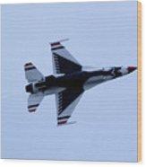 Fighting Falcon Wood Print