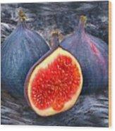 Figs 3 Wood Print