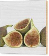 Figs Wood Print