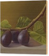 Figs From Walter's Orchard Wood Print
