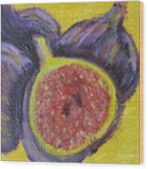 Four Figs  Wood Print