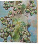 Figs3 Wood Print