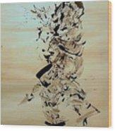 Figure And Costume Wood Print