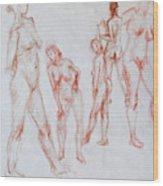 Figure Five Wood Print