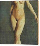 Figure In Motion 1913 Wood Print