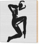 Figure Study Five Wood Print